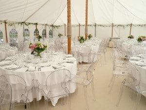 Rustic style marquee wedding Surrey