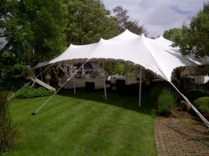 Stretch tent marquee Surrey