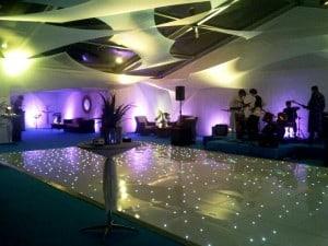 White Sails, blue carpet and pea light DF