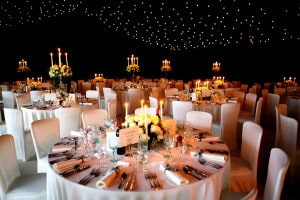 stunning party marquee hire