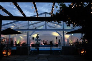 Clear Roofed Marquee Band