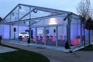 coporate event marquee