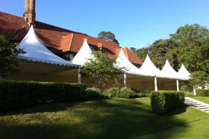 house extension pagoda marquee rental