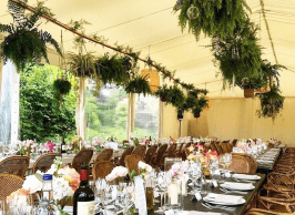 Wedding marquees post COVID-19 events