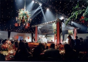 Frame Tent Interior Chinese Theme