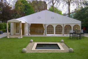 stunning marquee westminster