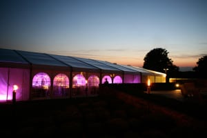 deluxe party marquee