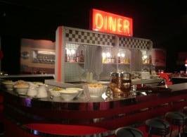 American diner theme