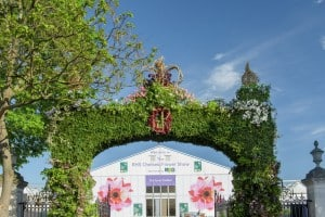 Chelsea Flower Show arch