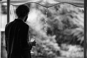Rainy marquee