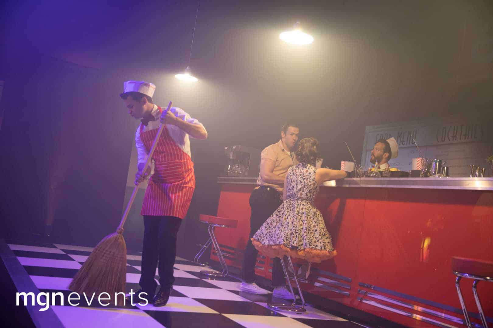 1950s Back To The Future 25th And 50th Birthday Party Kent