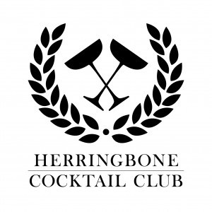 Herringbone Cocktail Club Logo