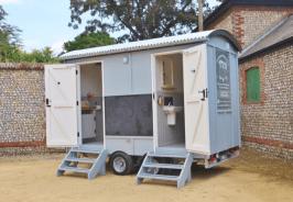 Shepherds Hut Toilet