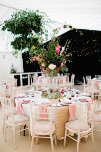 Floral marquee