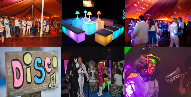 1970's marquee party