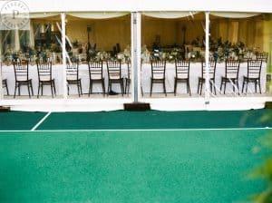 Tennis court marquee, long term marquee hire