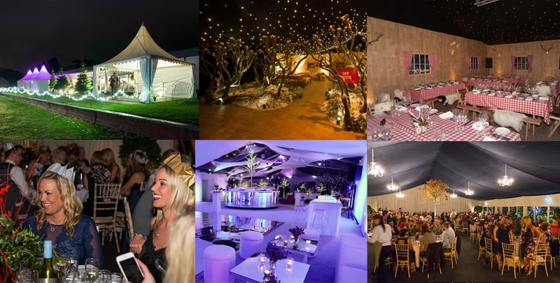 Winter Marquee Party