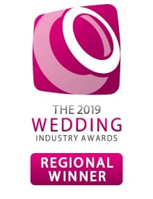 Wedding Industry Awards Regional Winner Logo 2019