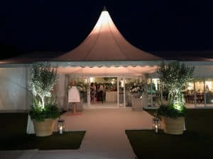 Chinese Hat Pagoda Marquee