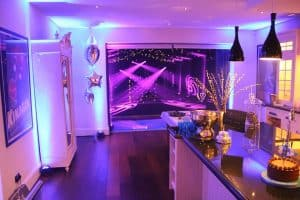 Celebrate a special occassion: Marquee house extension