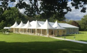 Celebrate a special occasion with a marquee party