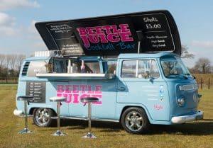 VW campervan bar, bar suppliers