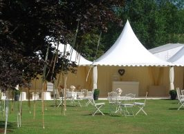 Chinese hat pagoda marquees