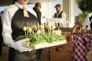 wedding marquee and party Catering