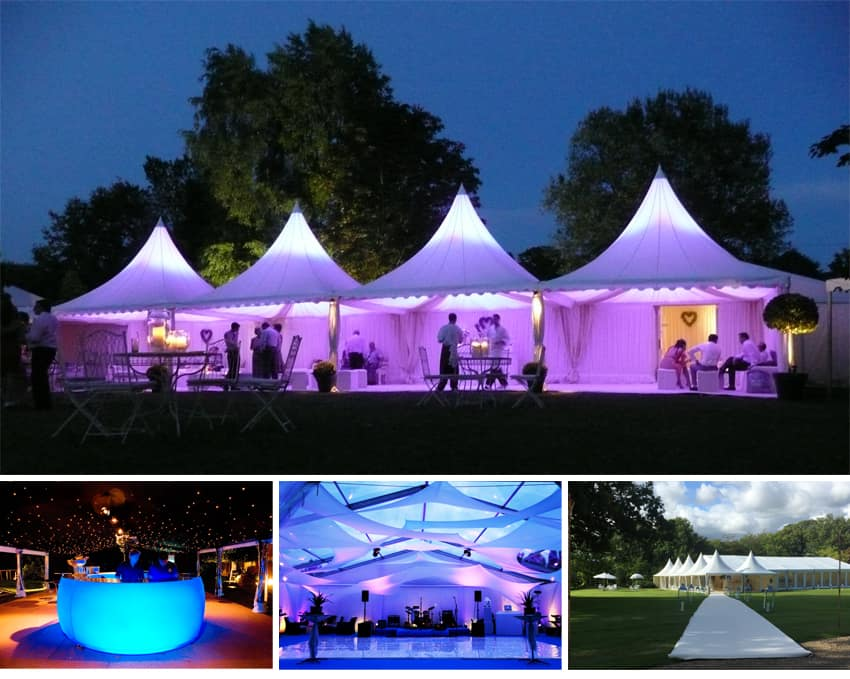 Different marquees