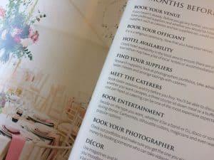 Wedding checklist wedding planner