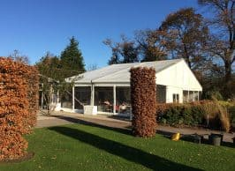 Retail extension marquee, restaurant, bar and pub extension marquees, long term marquee hire