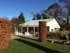 Retail extension marquee, restaurant, bar and pub extension marquees