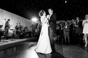 Marquee company reviews: A couple dancing in a wedding marquee