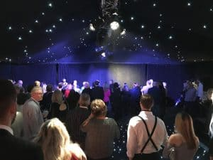 Birthday party marquee hire