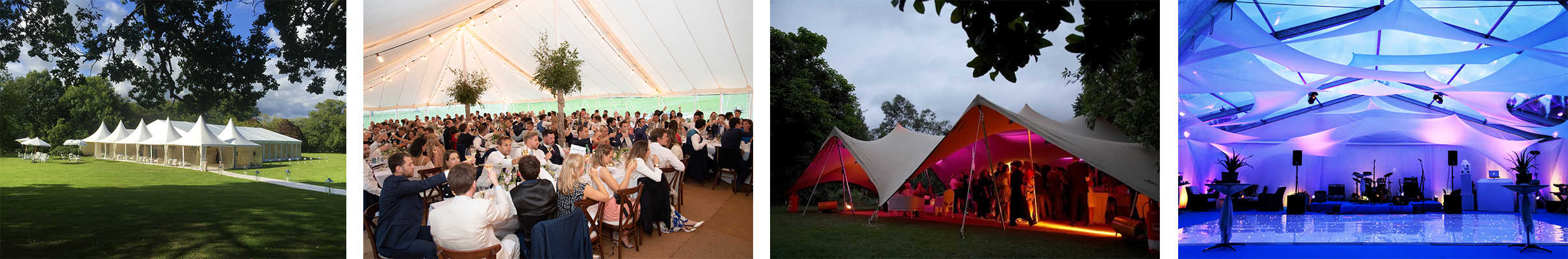 Marquee wedding hire: Different types of marquees