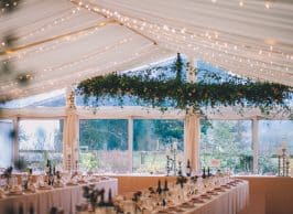 2021 wedding marquee trends