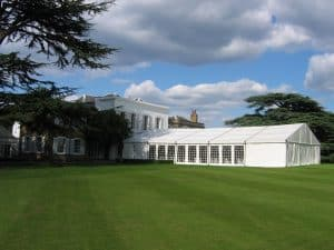 temporary classroom marquees
