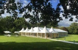 Party marquees Party marquee hire will a marquee damage my lawn?