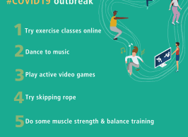 Mental Well-being WHO Be Active Campaign
