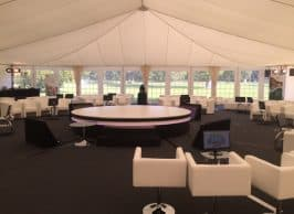 Technology solutions for marquees
