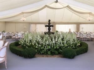 Experiencing grief: Marquees for funerals and wakes