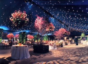 Dinner dance marquee